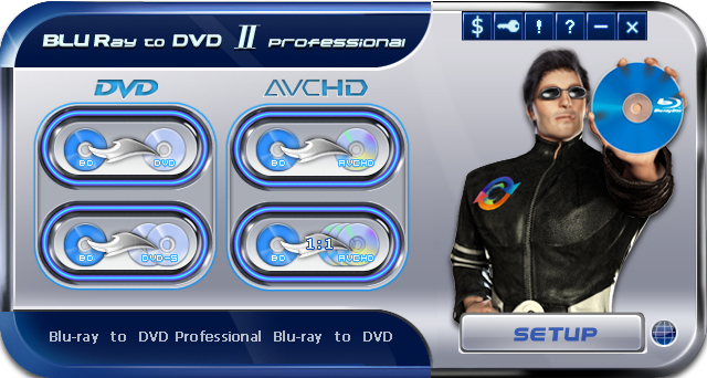 Blu-ray to DVD II Pro screenshot